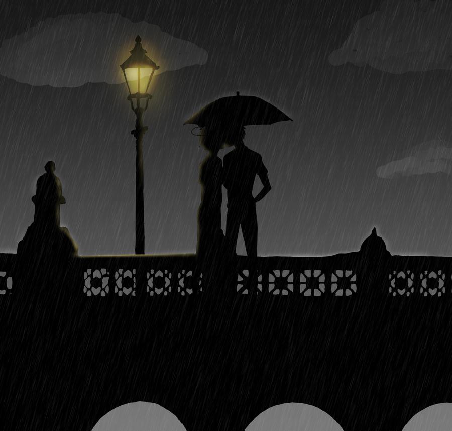 Lend me your umbrella by YamiSonozaki