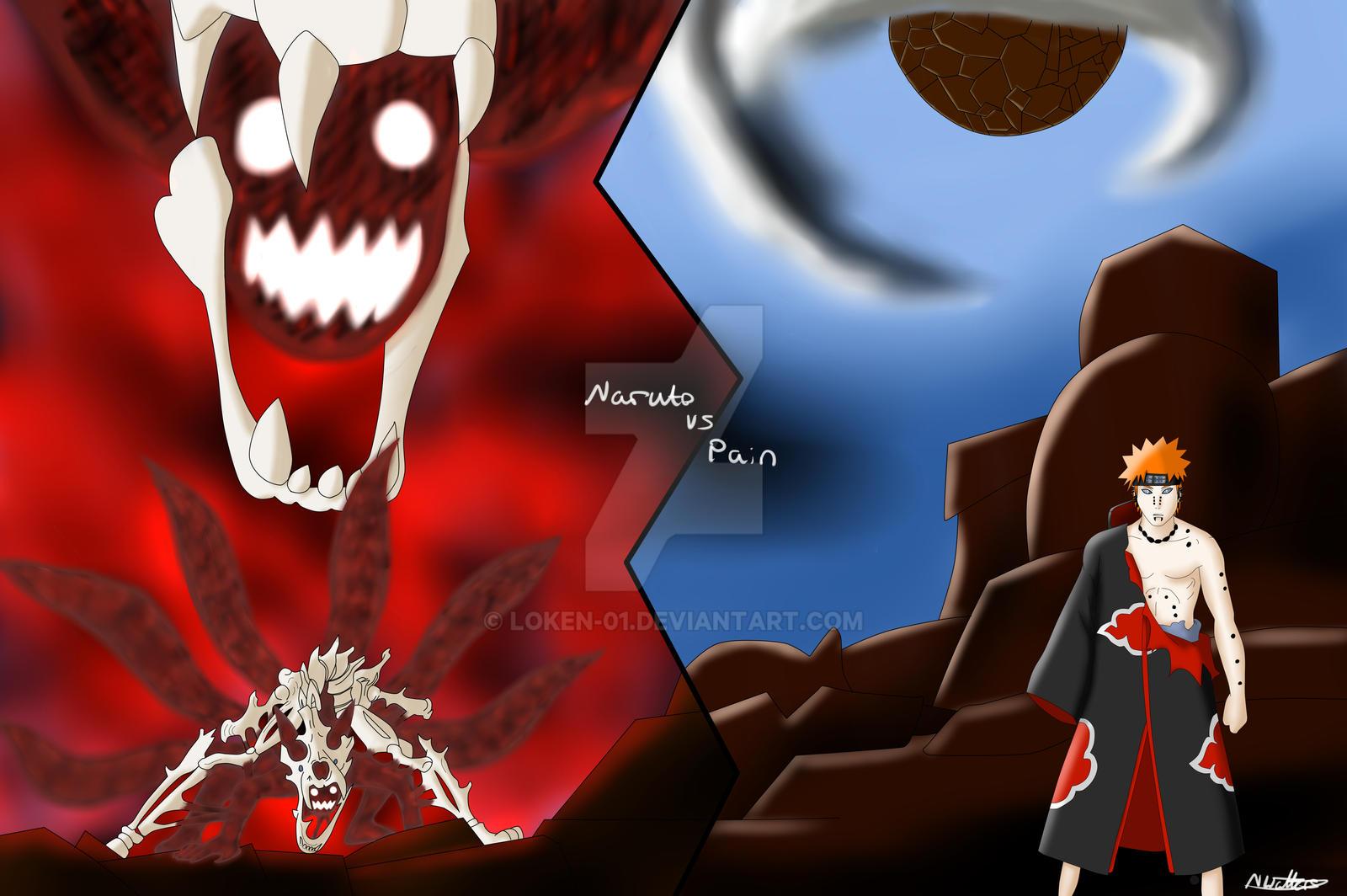 Naruto Vs Pain By Loken 01 On DeviantArt