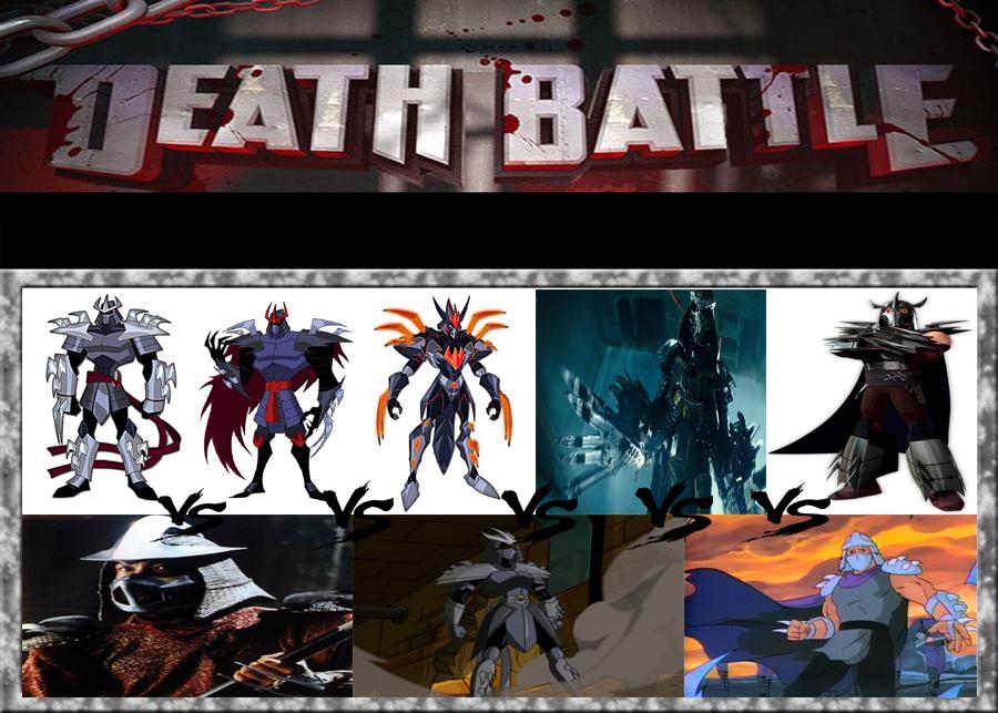Death Battle Ideas 62 Shredder War Tmnt By Kouliousis On Deviantart