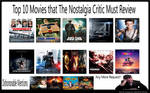Top 10 Movies The Nostalgia Critic Must Review