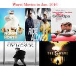 Worst Movies in Jan. 2016