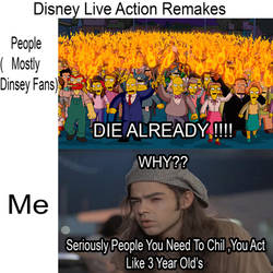 Everybody Hate The Disney Remakes......But i Don't