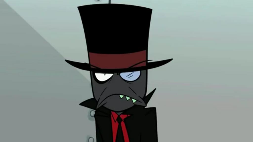 Grumpy Black Hat - Villainous by kouliousis