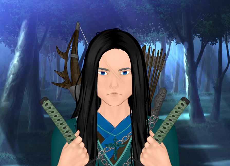 Me as a Fantasy Samurai Version 1 by kouliousis