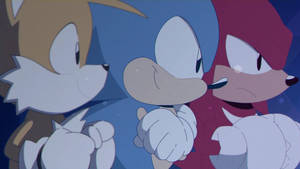 Sonic,Tails and Knuckles From Sonic Mania