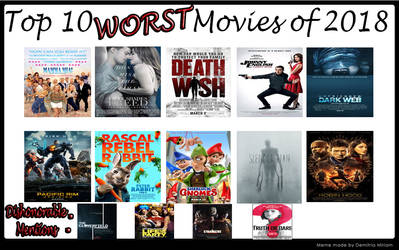 Top 10 Worst Movies Of 2018
