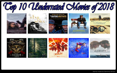 Top 10 Underrated Movies Of 2018