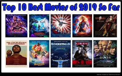 Top 10 Best Movies of 2019 So Far