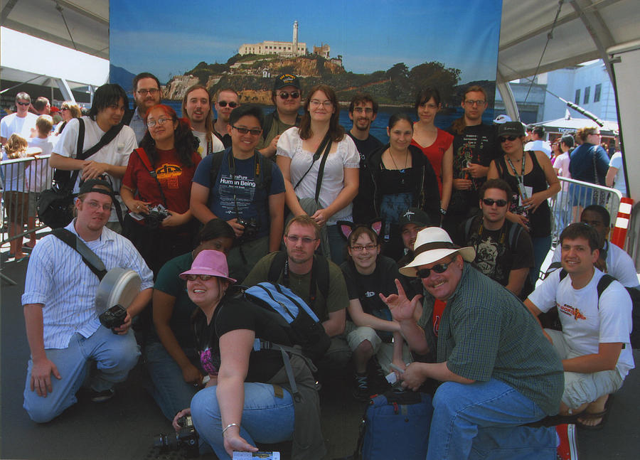 Alcatraz Group Shot by switchbladeserenade