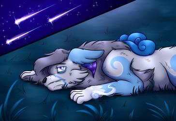 Kitsunegami:: A Tired Soul Under The Stars