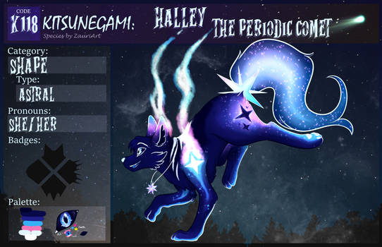 Kitsunegami:: Halley, The Periodic Comet