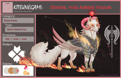 Kitsunegami:: Krios, The Aries Vigor