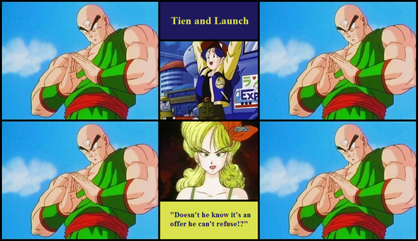 Tien And Launch Fanfiction
