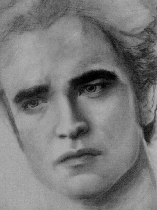 Edward Cullen Charcoal Sketch By Sampl3dbeans On Deviantart