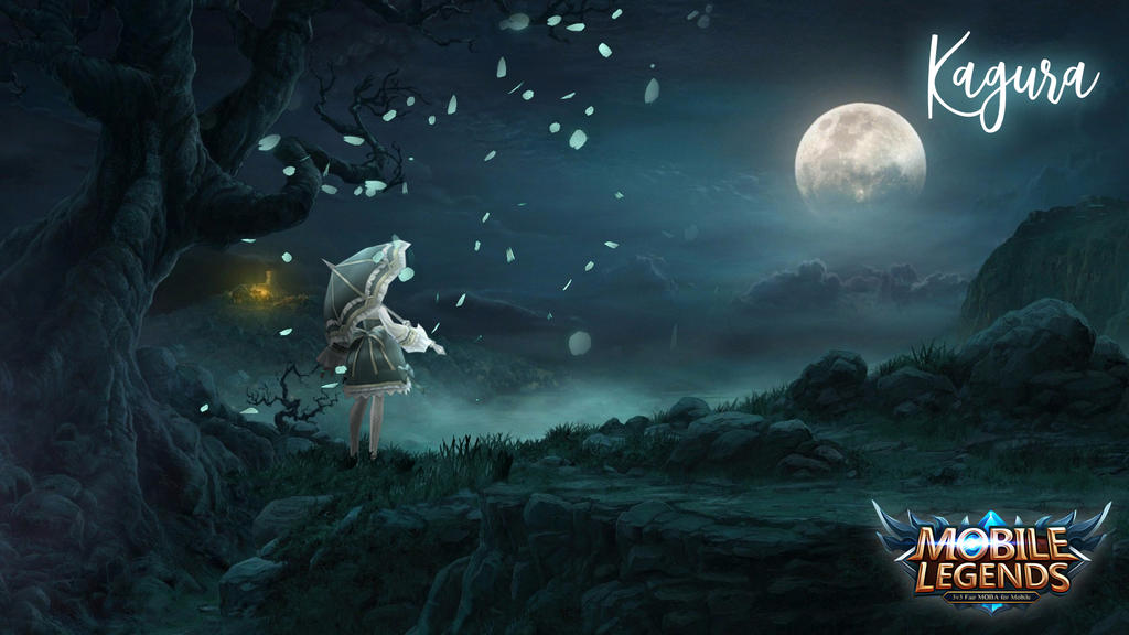 Kagura Desktop Wallpaper - Creative Exchange - Mobile Legends