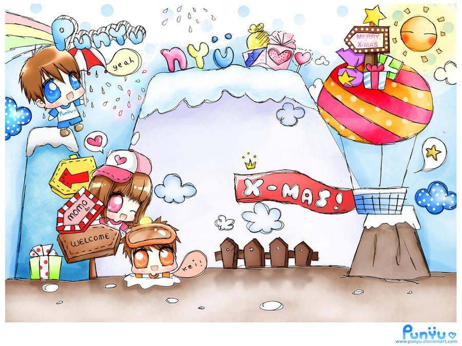 Punyu Wish U Merry Christmas by Punyu