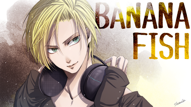 BANANA FISH Ash Lynx How to Draw - Anime Manga Art