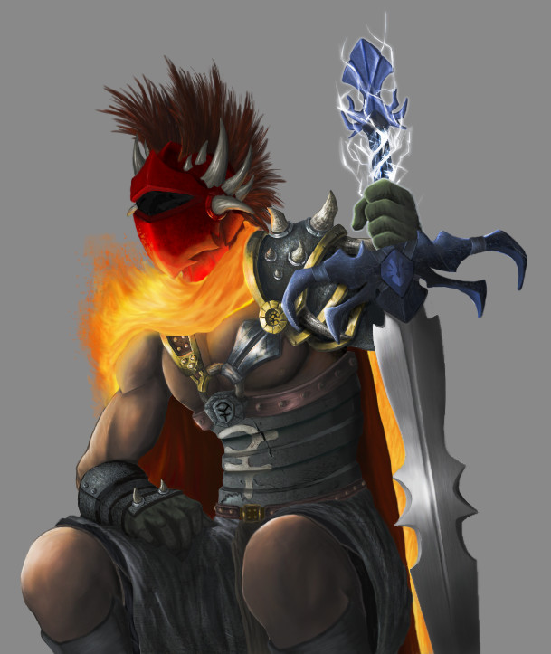 RuneScape Warrior by Vaporage