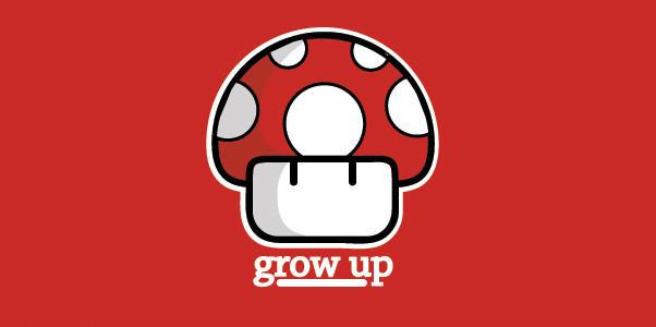 Mario Mushroom - Red by bamjamble