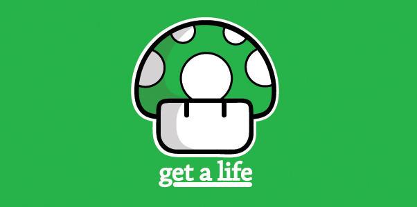 Mario Mushroom - Green by bamjamble