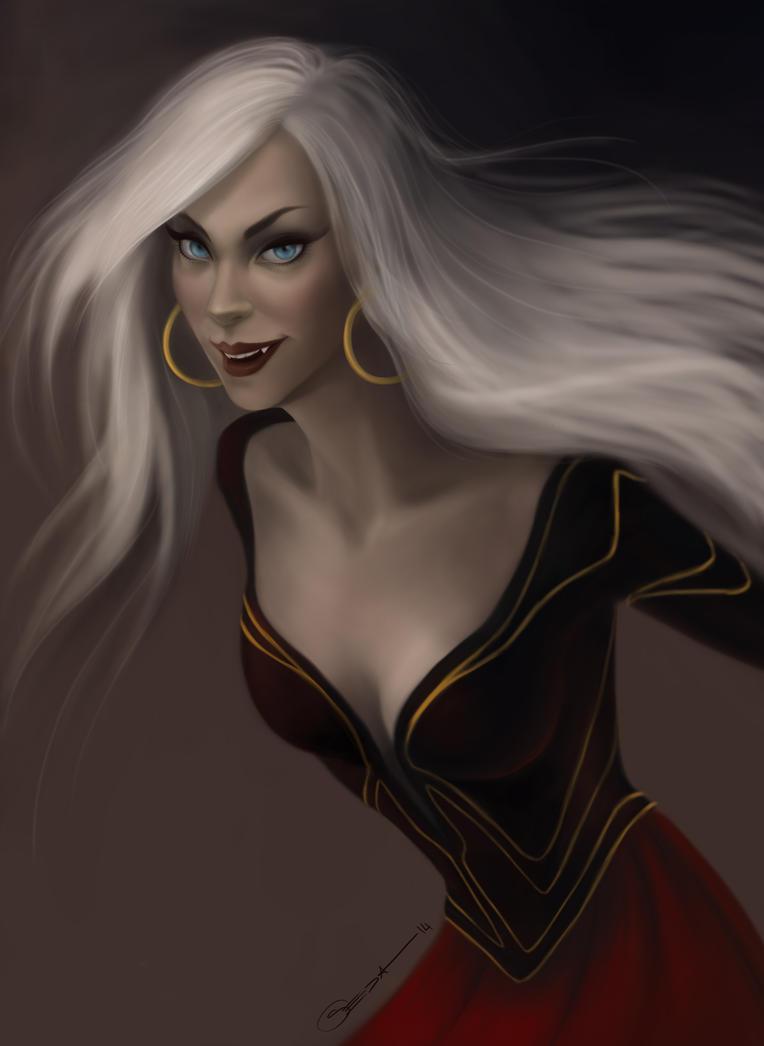 Vampire Girl by jebirvoki