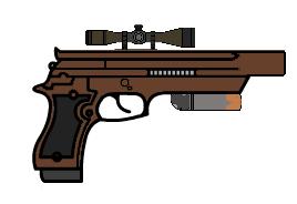 Trynt's Handgun by trynt33