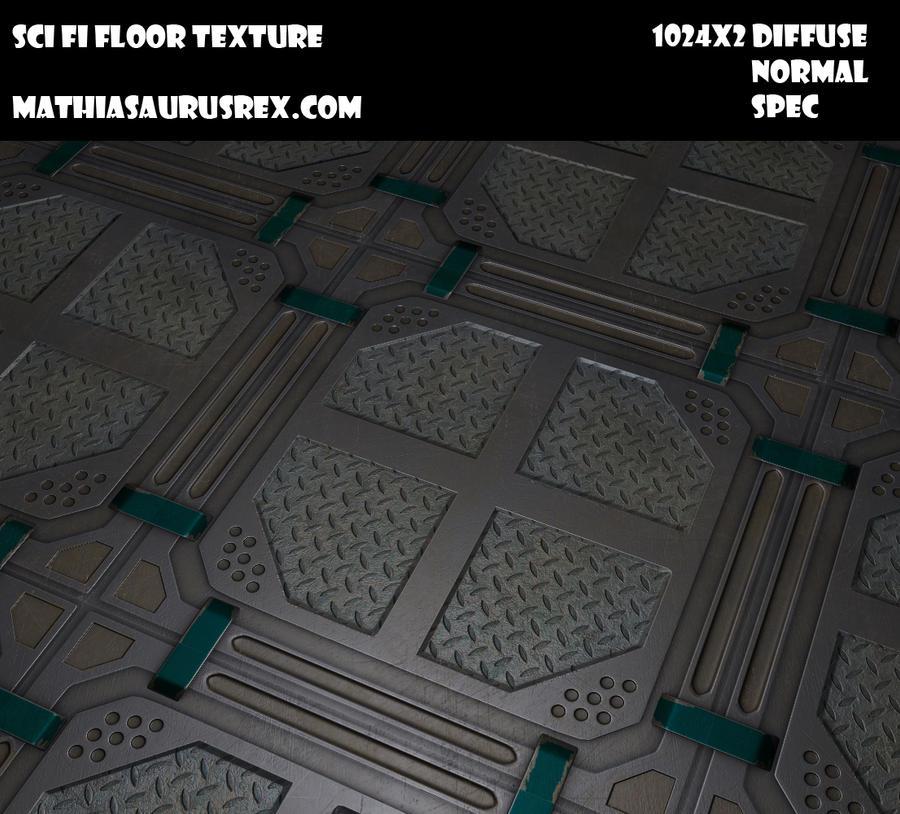 Sci fi Floor Texture Sci fi Floor Panel by Suelimn