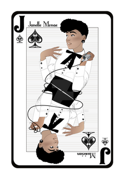 Janelle Monae - Playing Card