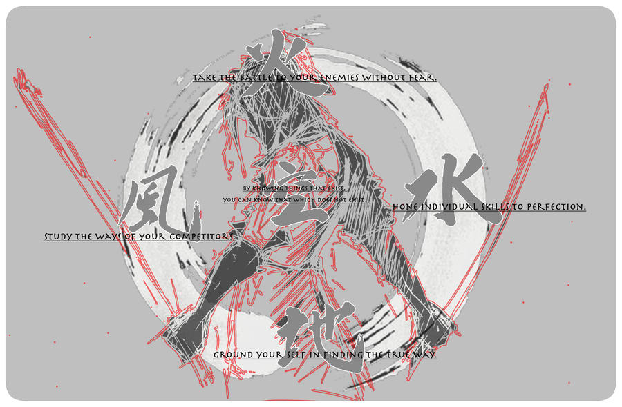 TheBookofFiveRings_Musashi by AxiosHeart