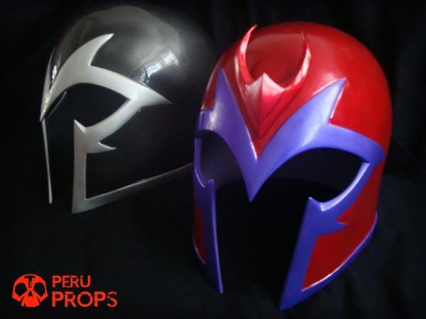 Magneto Red Helmet 06 By Raultumba