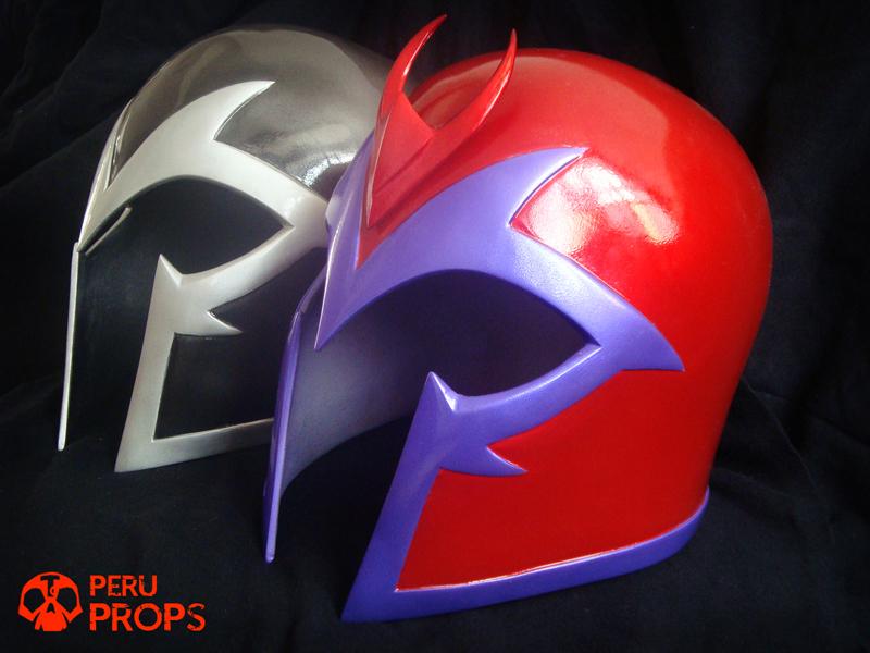 Magneto red helmet _08 by raultumba