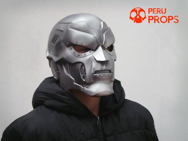 Dr Doom helmet 01 by raultumba