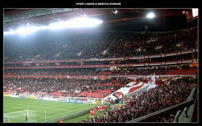 Benfica : Stadium of Light 2 by postmodum