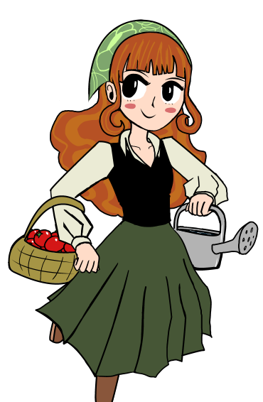 farm girl by fourswords on DeviantArt