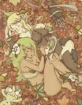 Wakfu girls in autumn