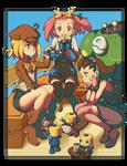 Megaman Tribute: Legends Girls