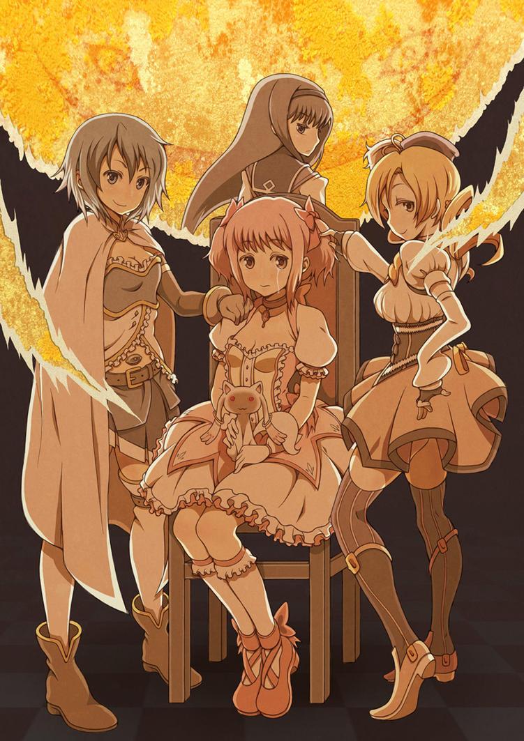 Magical Girls Tore Asunder by vinhnyu