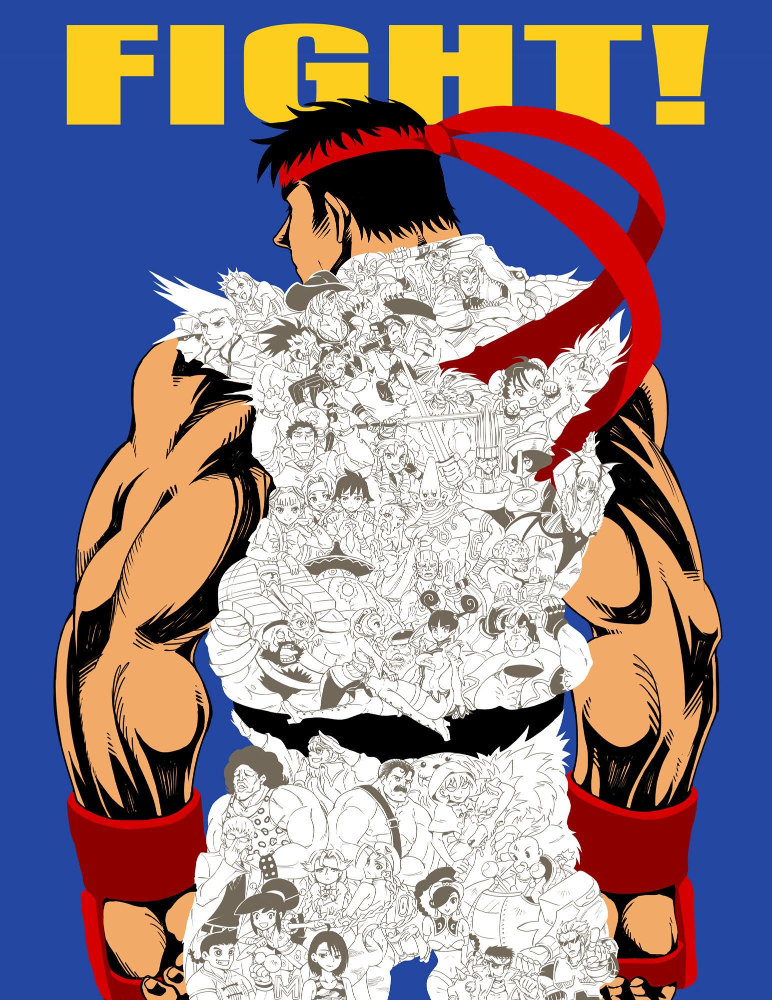 Fight Capcom! by vinhnyu