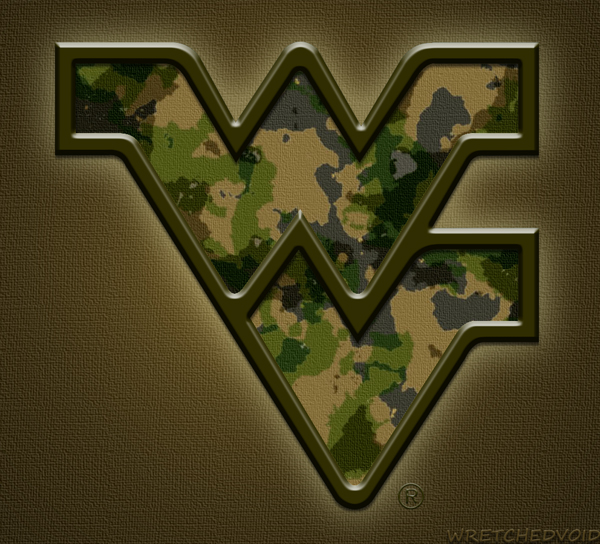 WVU Flying WV Camo 2012 By Wretchedvoid