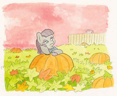 EDATG Day 24 - Maud Waits for the Great Pumpkin
