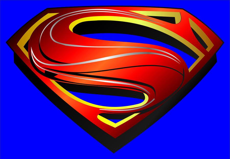 superman new logo man of steel by javiercr69 on deviantart