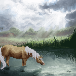 Swamp horse by ana-made-it