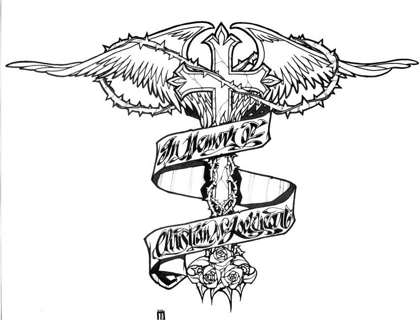 My First Tattoo Design by vincentkukua