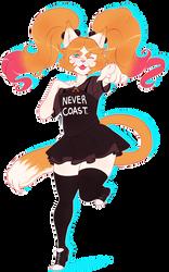 cute furry oc commission~! by BASEDGUMMY