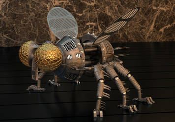 Robotic Fly. by Modern-Art-And-War
