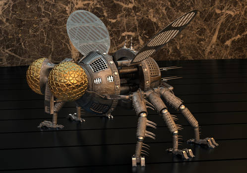 Robotic Fly.