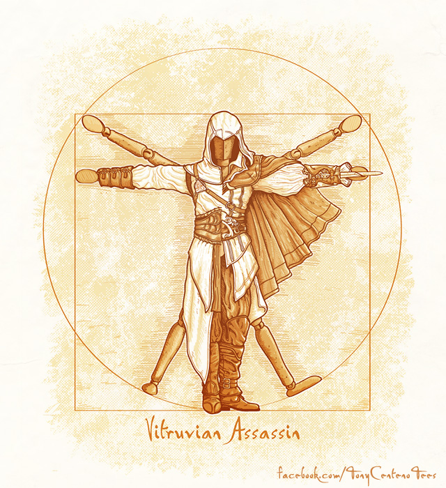 Vitruvian-Assassins-by-Tony-Centeno by TonyCenteno