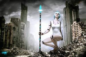 Julez - Cyborg by timbuktu77