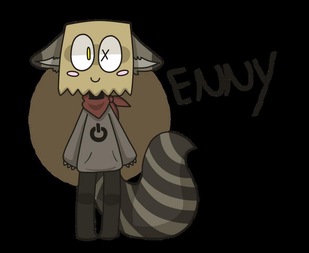 Enny - the raccoon by LN-Polar
