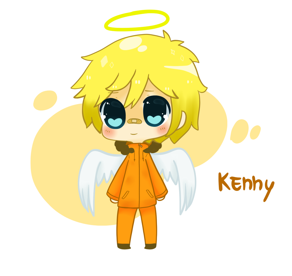 Kenny McCormick -South park by LN-Polar